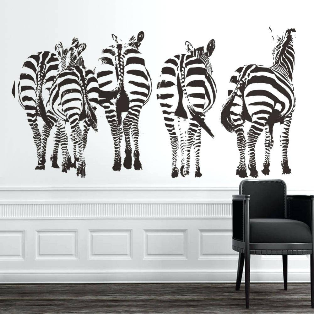 Damask Decals Wall Art Best Urban Wall Decals Images On Wall Regarding 2017 Black And White Damask Wall Art (View 14 of 30)