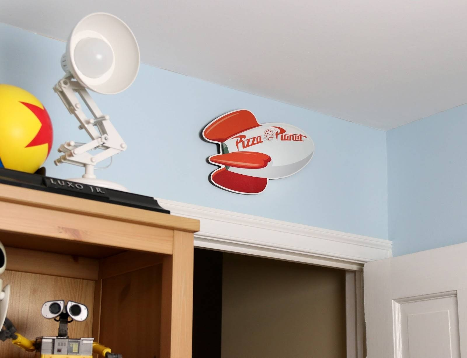 Dan The Pixar Fan: Toy Story: Pizza Planet Wooden Wall Art (By Box Inside Latest Toy Story Wall Stickers (View 5 of 25)