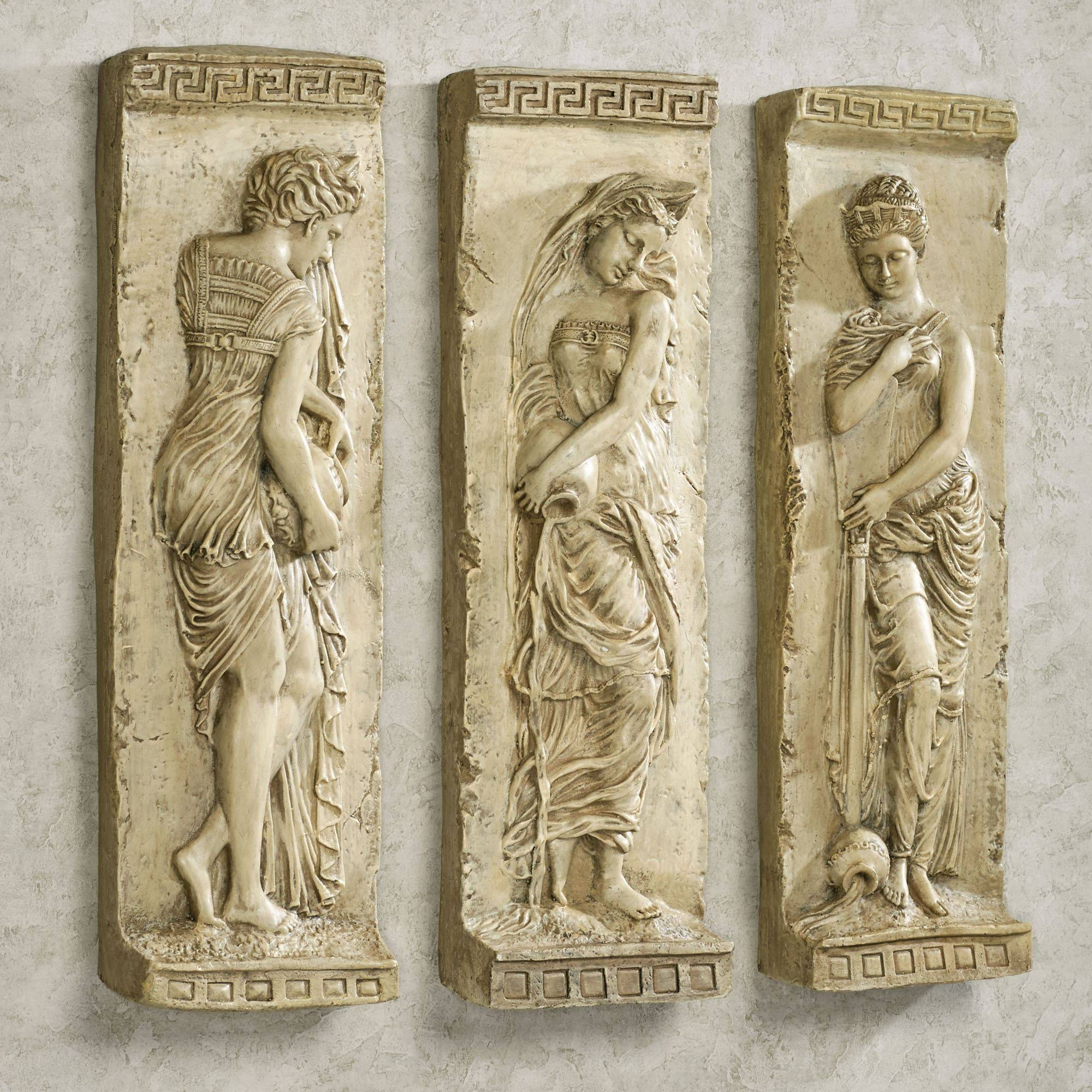 Danaides Of Argos Ii Wall Art Set In 2018 Greek Wall Art (View 9 of 20)