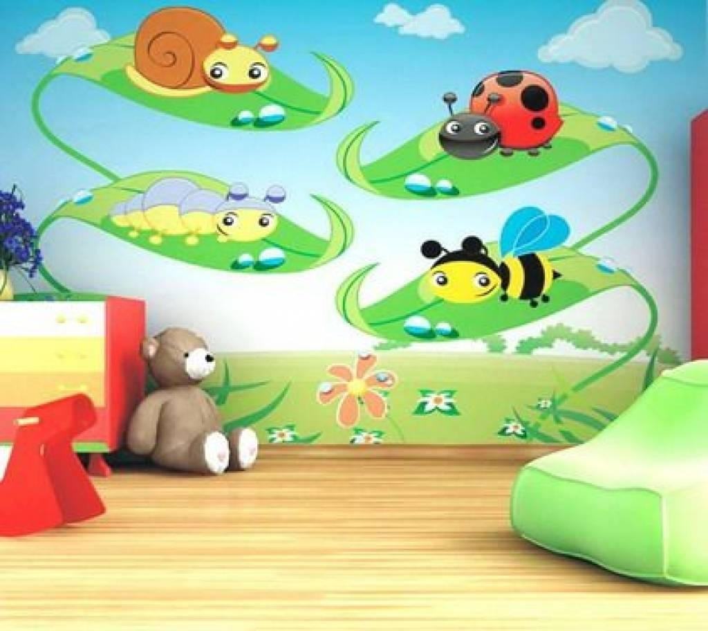 Daycare Decor, Decorating, Vinyl Wall Murals, Preschool Wall Pertaining To Most Recent Preschool Wall Decoration (View 8 of 30)