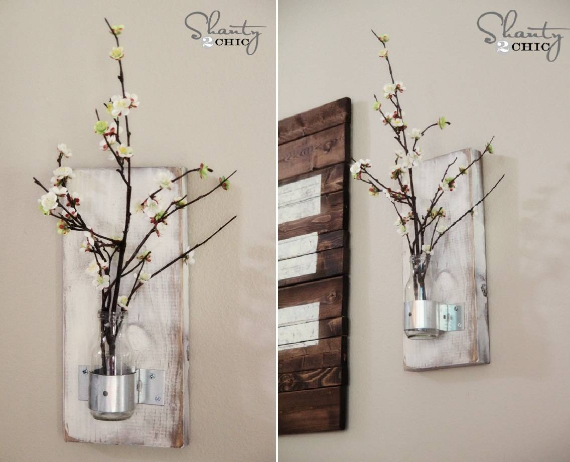 Debonair Diy Living Room Wall Decorating Ideas Decoration Idea In Recent Homemade Wall Art (View 6 of 20)