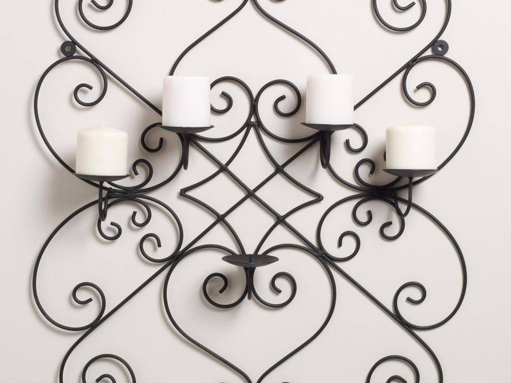 Decor : 95 Home Decor With Wrought Iron Wall Art Filigree Wall Art Pertaining To Current Filigree Wall Art (View 7 of 30)
