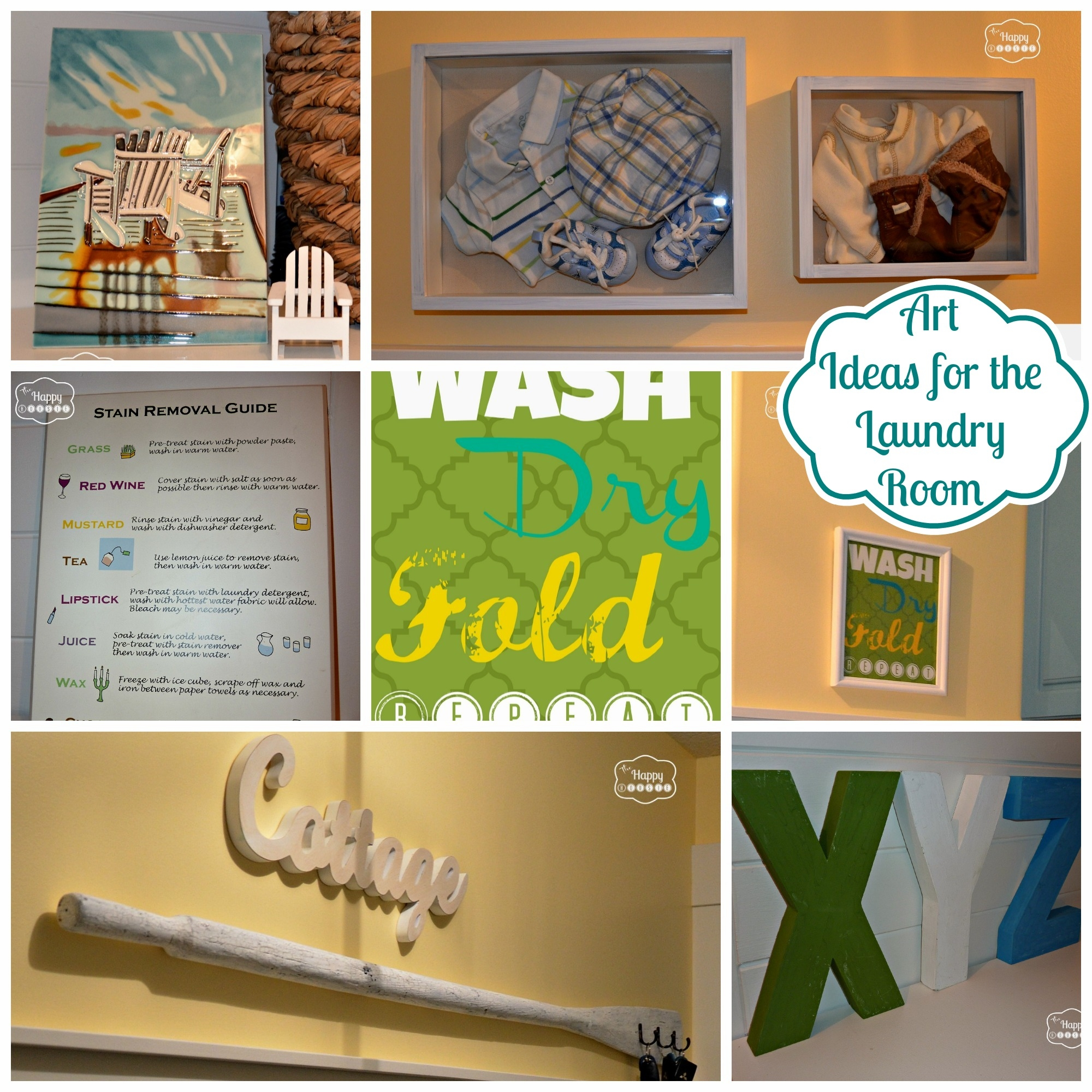 Decor: Laundry Room Wall Decor Ideas Throughout Recent Laundry Room Wall Art Decors (View 9 of 25)