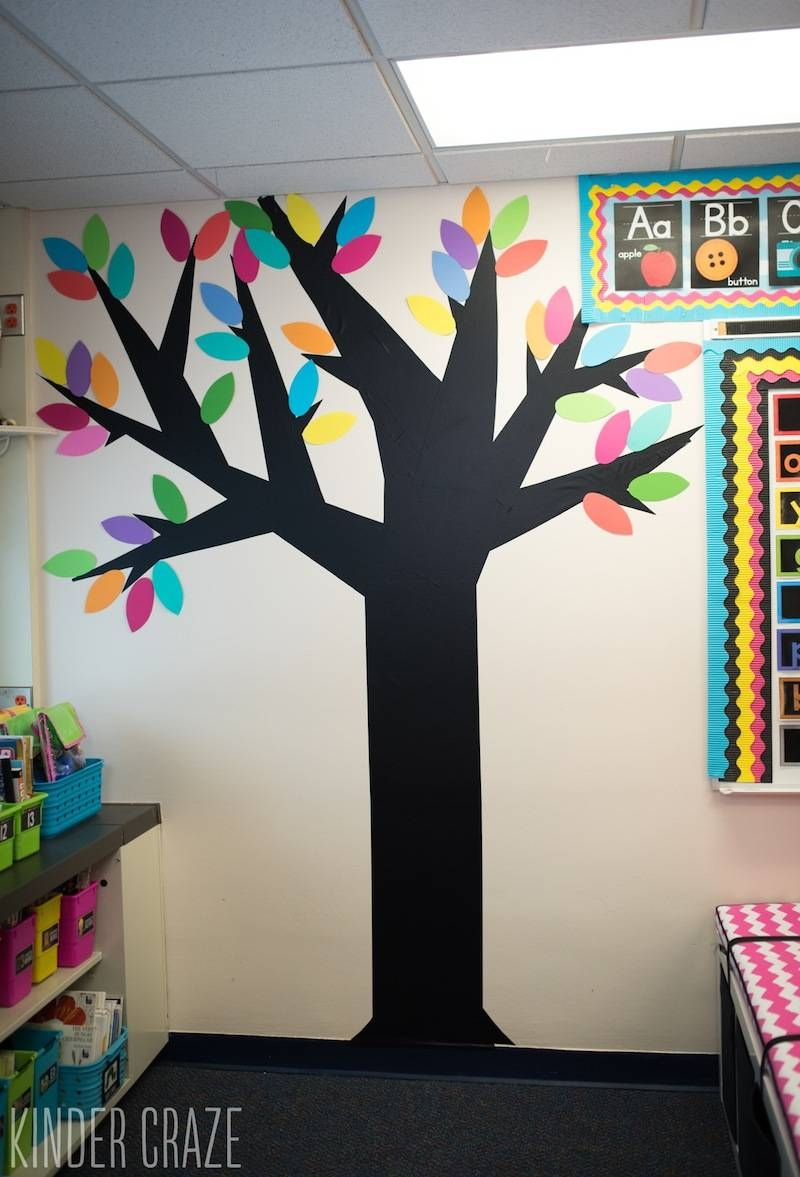 Decor : Wall Decoration For Preschool Classroom Decor Modern On For Most Recent Preschool Wall Decoration (View 11 of 30)