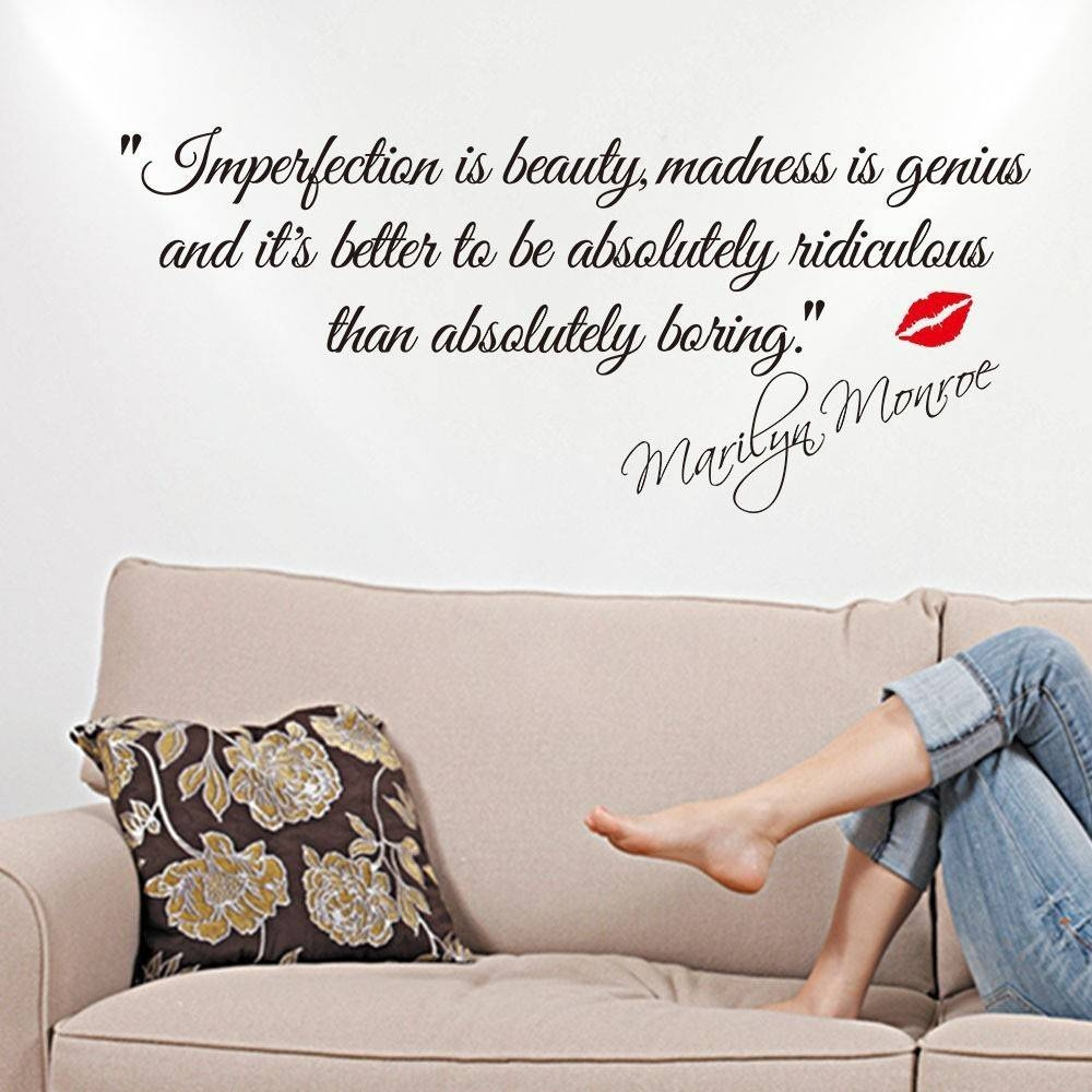 Decorated Art Nouveau Removable Wall Decal Marilyn Monroe Home For 2017 Art Nouveau Wall Decals (View 18 of 20)