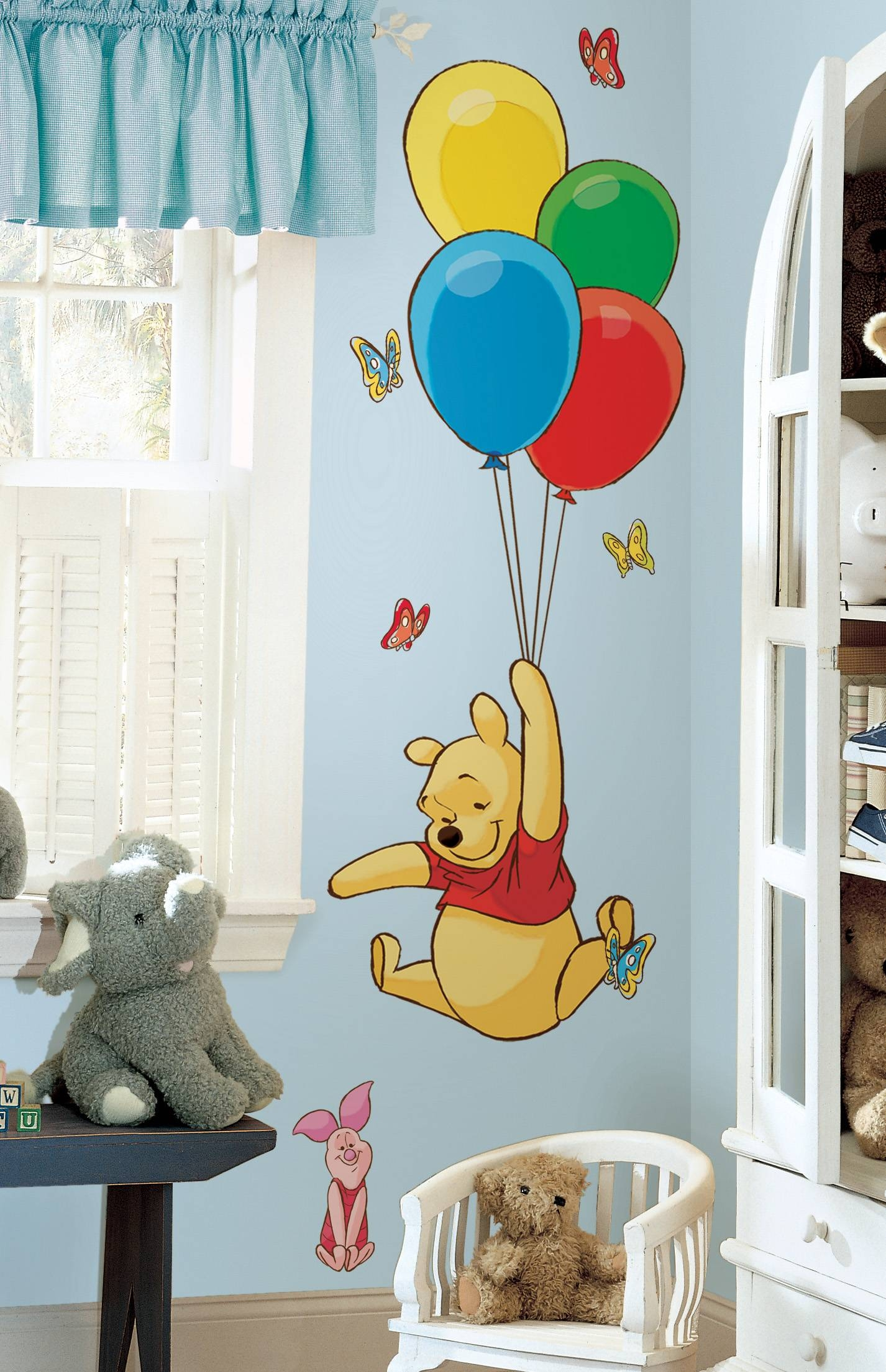 Decorating A Nursery With Winnie The Pooh Intended For Newest Winnie The Pooh Wall Art (View 6 of 20)