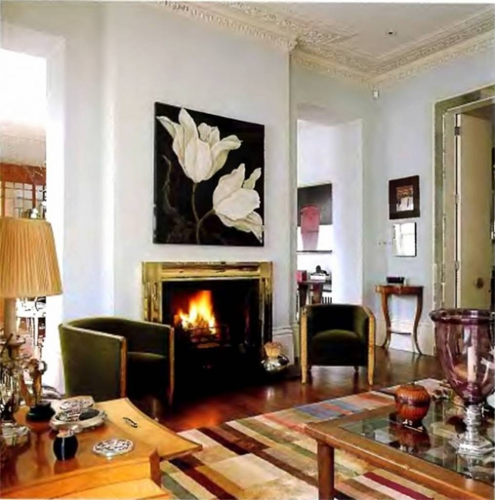 Decorating Ideas For Fireplace Walls Diy Home Decor Designs In Newest Fireplace Wall Art (View 7 of 20)