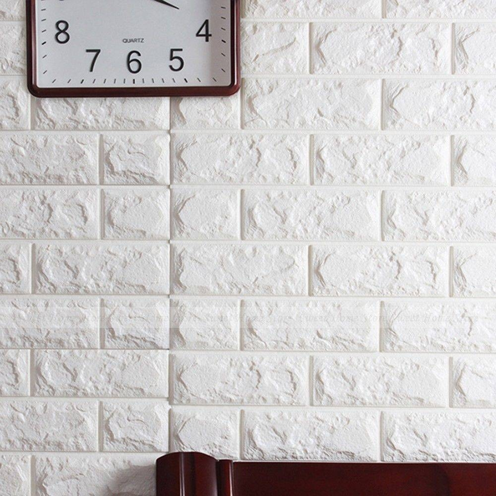 Decoration Art Picture – More Detailed Picture About White 3d With Most Recently Released 3d Brick Wall Art (View 15 of 20)