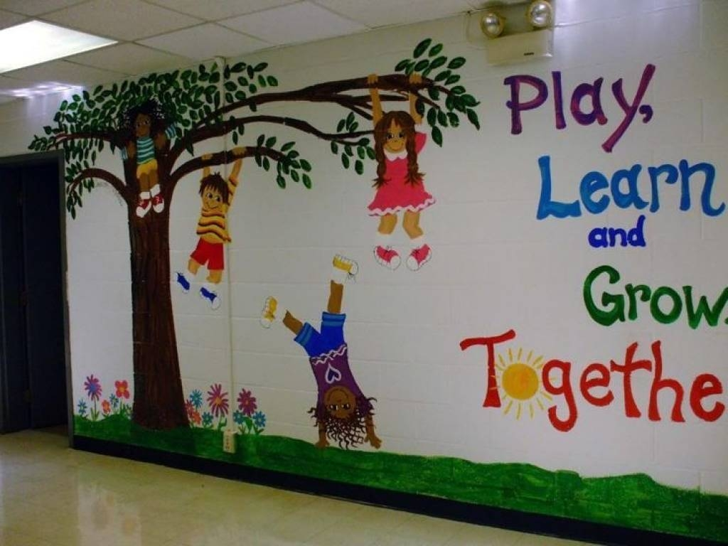 Decoration Ideas For Classroom Walls At – Bathroomstall Inside Best And Newest Preschool Wall Decoration (View 14 of 30)