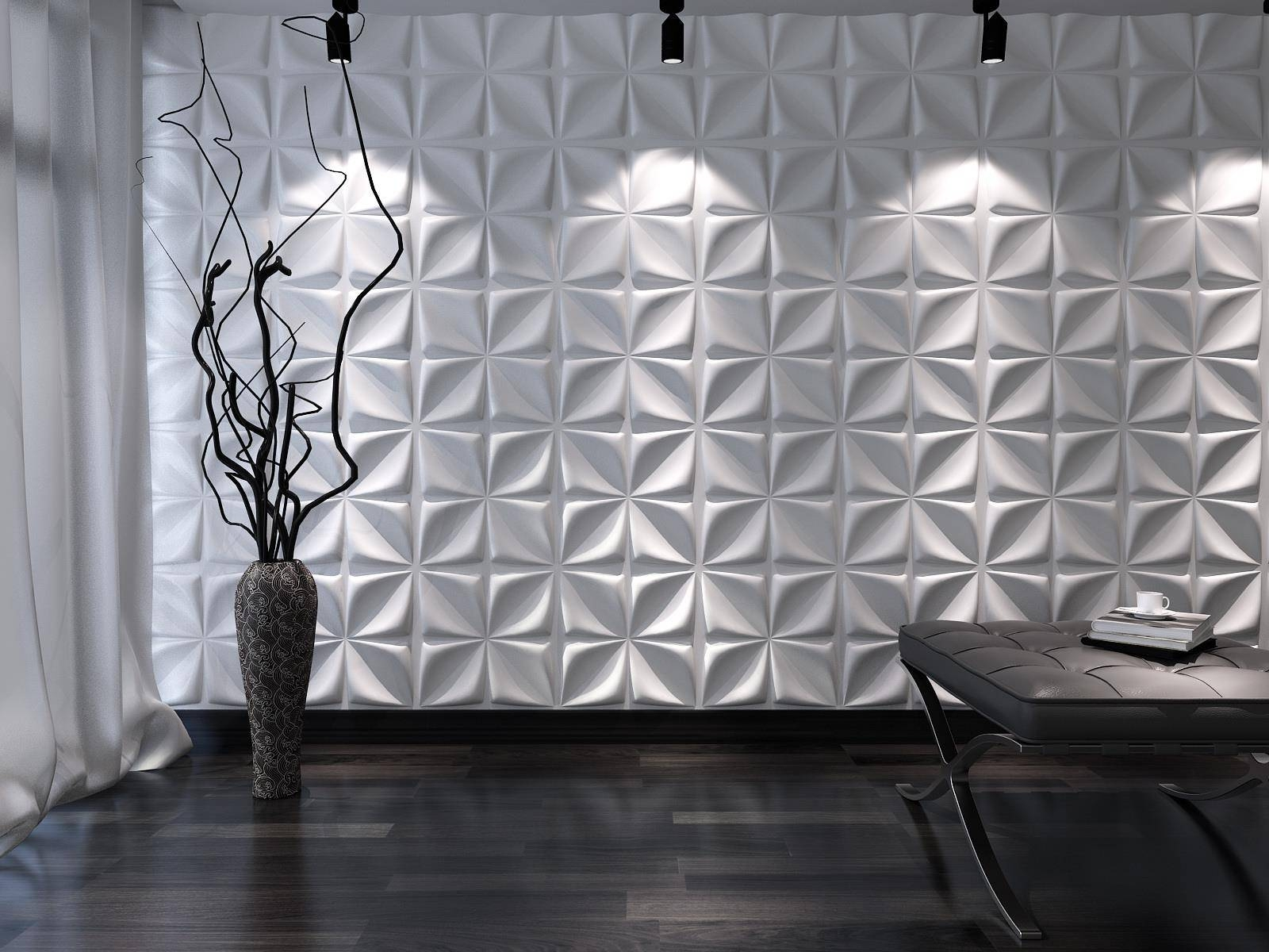 Decorations : Cool 3d Wall Murals To Get Fresh Home Nuance As Within 2017 3d Modern Wall Art (View 14 of 20)