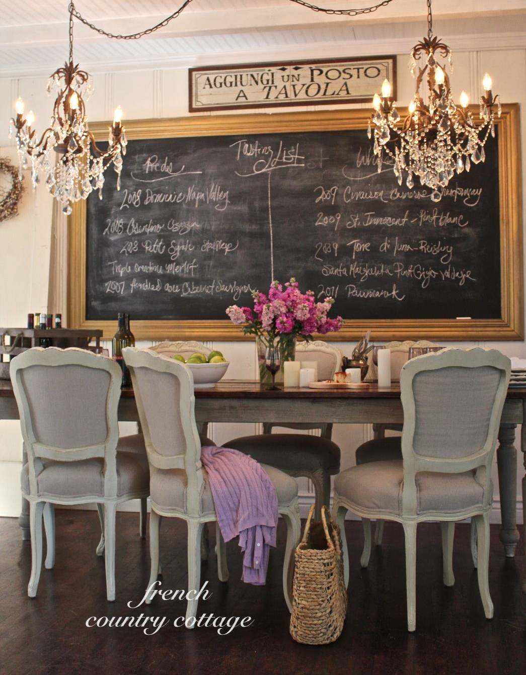 Decorations : French Country Cream Dinning Space Featuring Large Throughout 2017 Country French Wall Art (View 11 of 30)