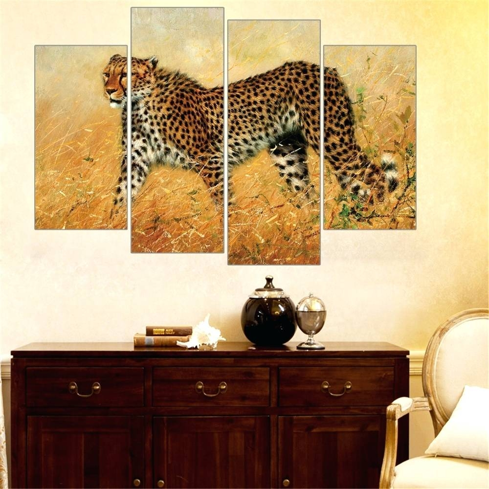 Decorations : Leopard Home Decor Fabric Leopard Print Home Decor With Latest Leopard Print Wall Art (View 18 of 25)