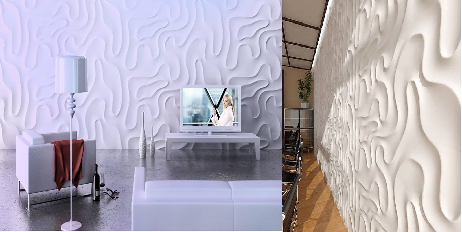 Decorative 3D Wall Panels For Unusual Wall Decor 2017 Intended For Most Popular 3D Wall Panels Wall Art (View 9 of 20)