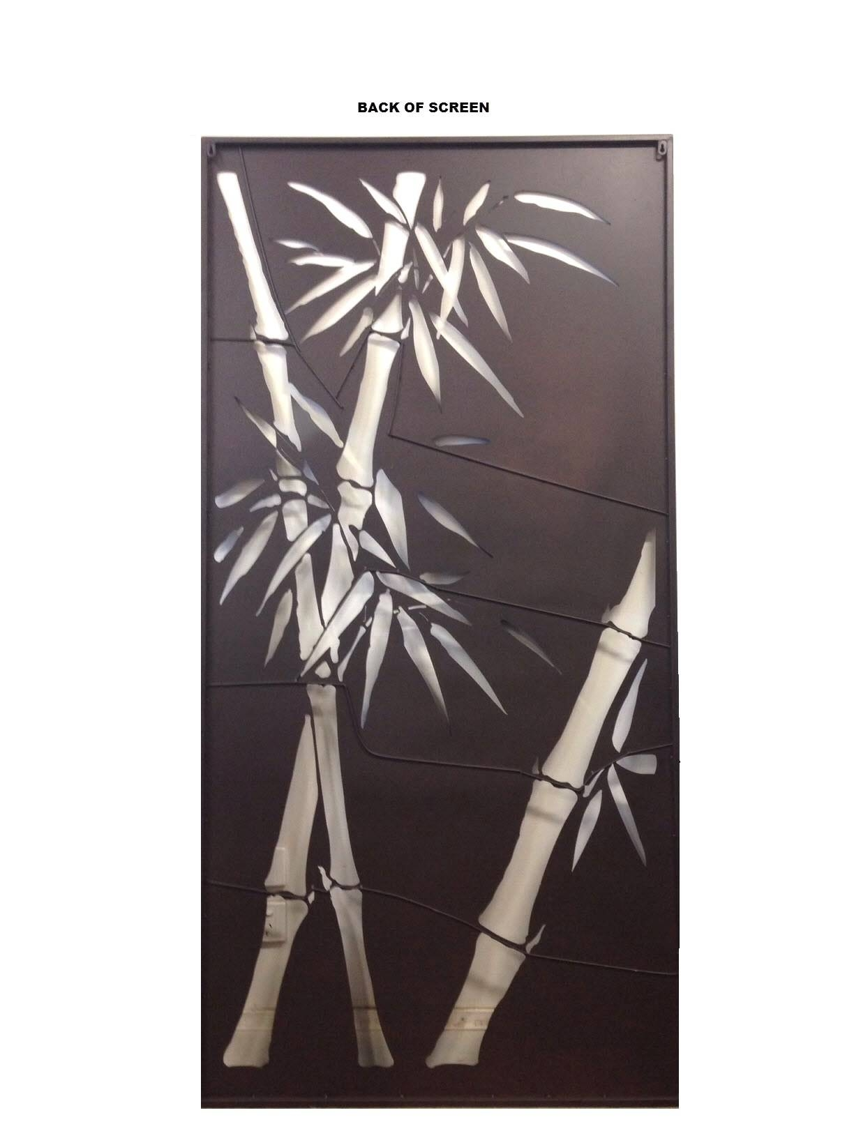 Decorative Metal Screens Wall Art Garden Bamboo Ebay ~ Loversiq Intended For Current Bamboo Metal Wall Art (View 10 of 25)
