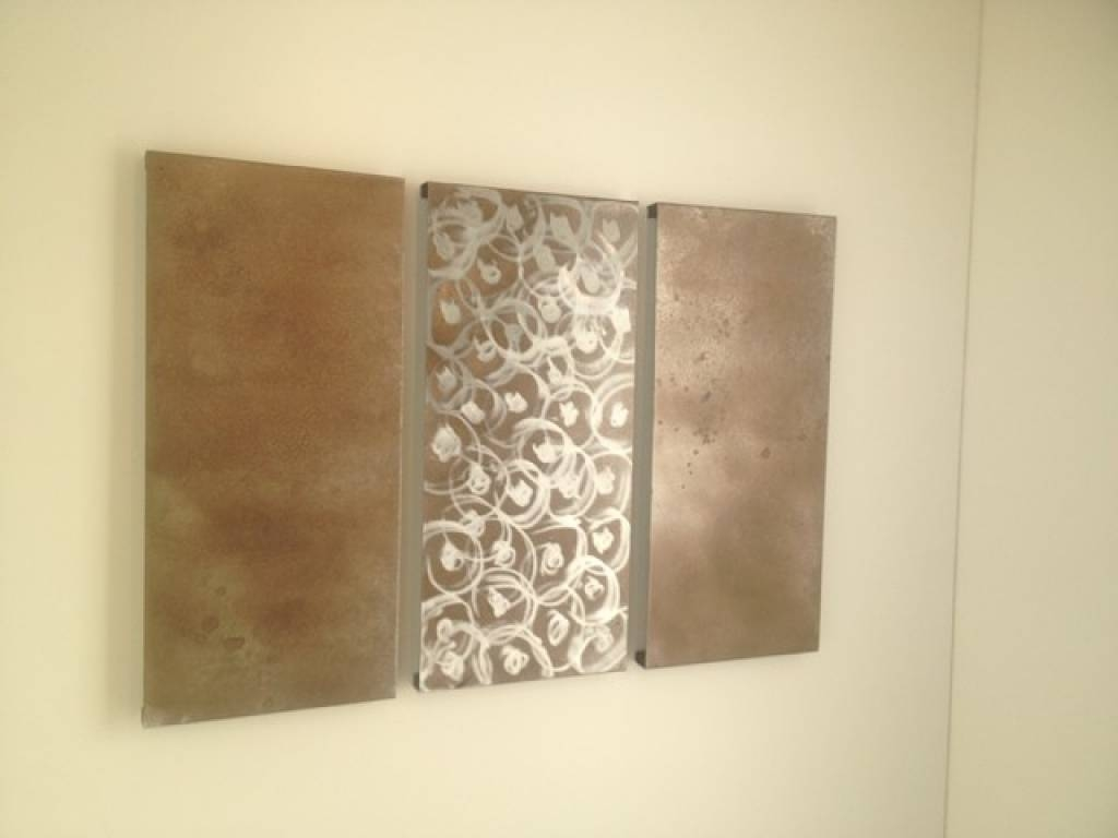 Decorative Metal Wall Art Panels Silver Rectangular Metal Wall Regarding Most Recently Released Rectangular Metal Wall Art (View 4 of 20)