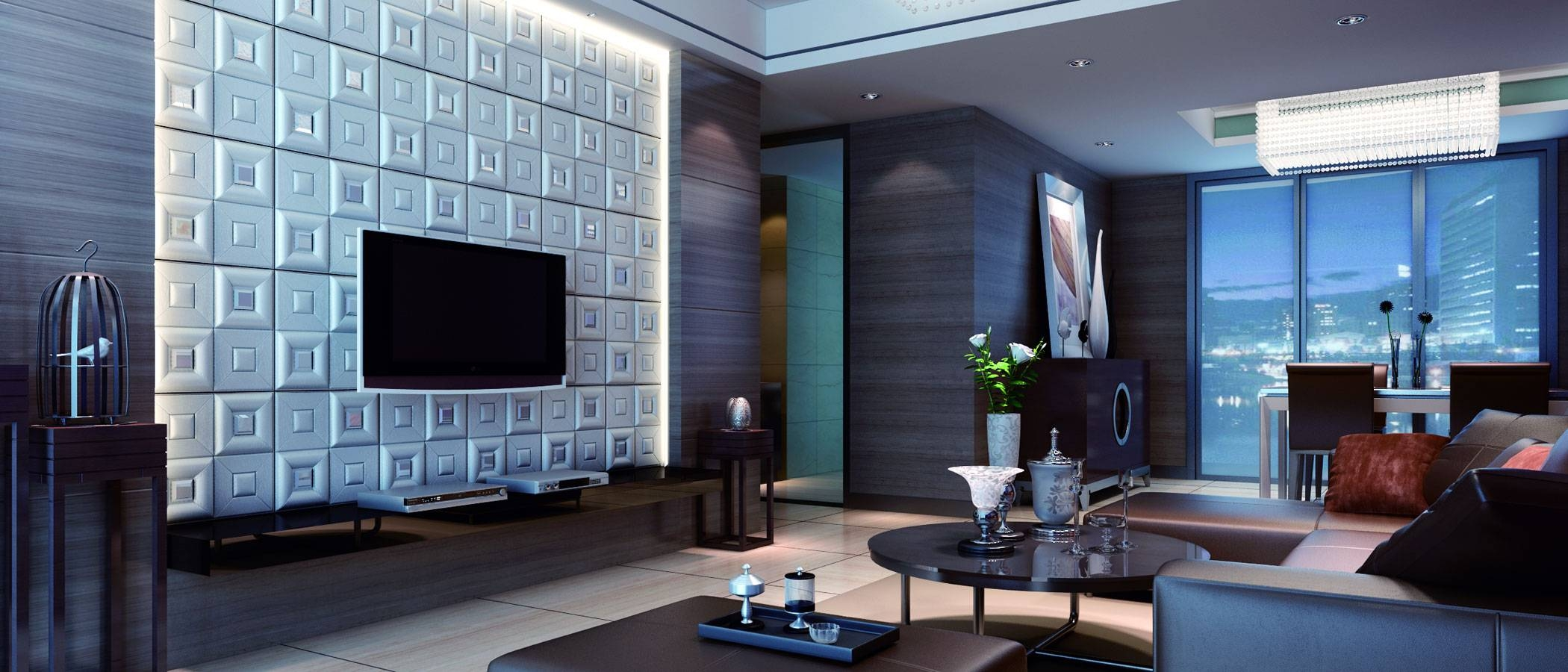 Decorative Wall Panels For Living Room – Mybktouch With 2017 Painting 3d Wall Panels (View 12 of 20)