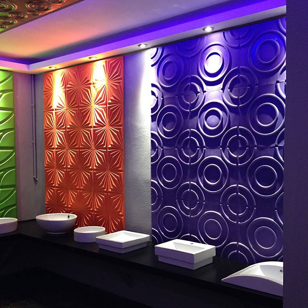 Decorative Wall Panels With Lights ~ Wanker For  (View 12 of 20)