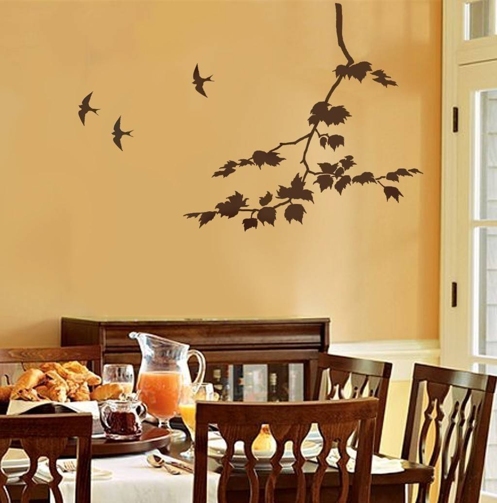 Decorative Wall Stencils | Home Decor And Design With Regard To Most Current Space Stencils For Walls (View 2 of 20)
