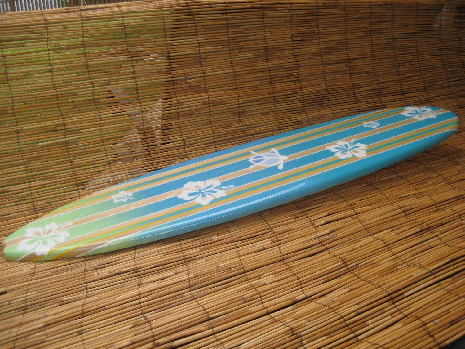 Decorative Wooden Surfboard Wall Art For A Hotel Restaurant With Regard To Best And Newest Decorative Surfboard Wall Art (View 18 of 25)