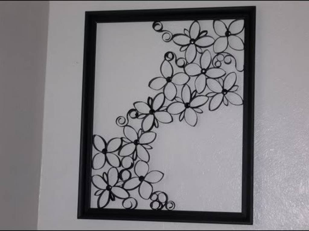 Decorative Wrought Iron | Home Interior Wall Decoration – Part 2 Regarding Most Recent Faux Wrought Iron Wall Art (View 6 of 30)
