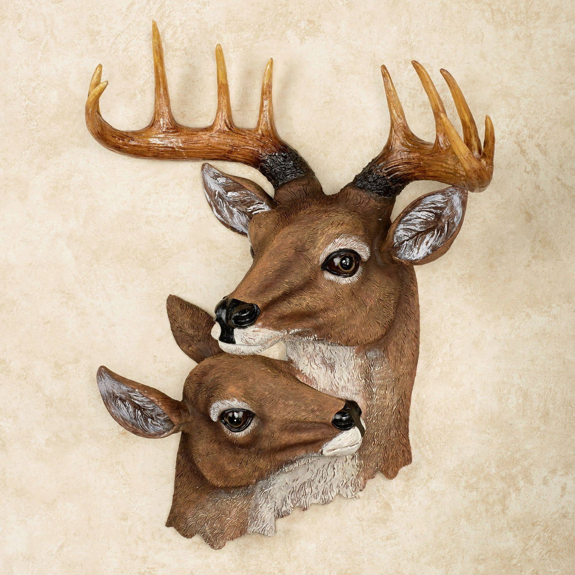 Deer Head Wall Art Regarding Newest Stag Wall Art (View 4 of 20)