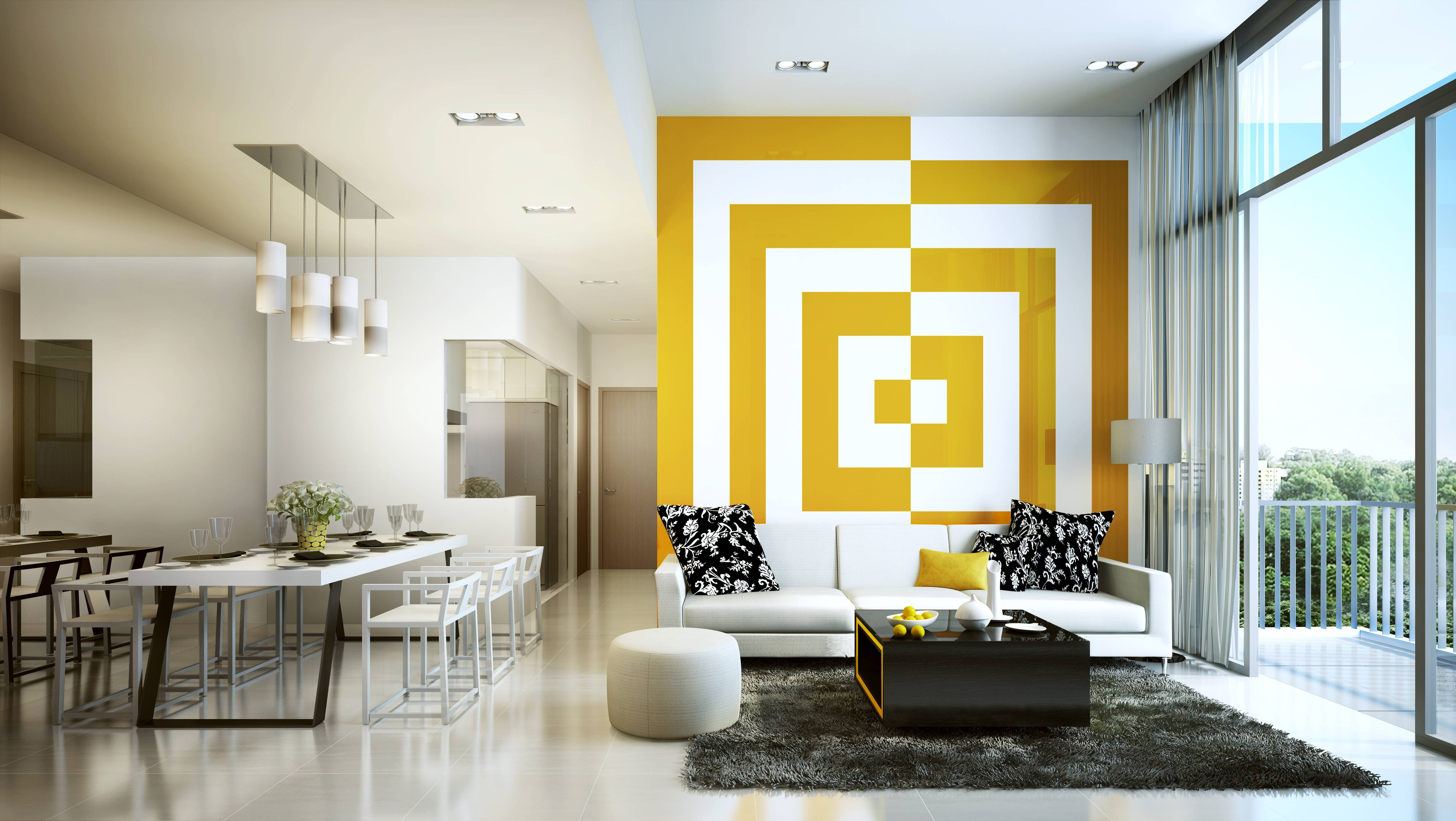 Design My Apartment Online Lovely Apartment Decorating Planner Regarding Newest 3d Wall Art For Living Room (View 7 of 20)