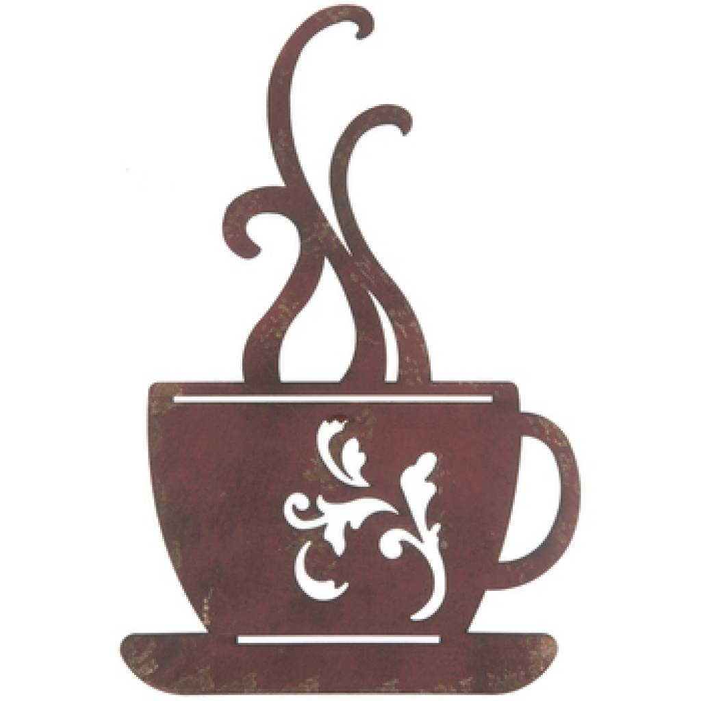 Design Swag | Metal Wall Art Coffee Java Kitchen Interior Decor Intended For Most Recently Released Metal Coffee Cup Wall Art (View 10 of 20)