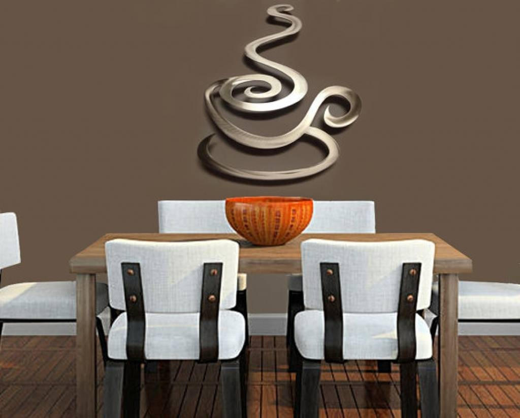 Design Swag | Metal Wall Art Coffee Java Kitchen Interior Decor With Regard To Most Current Metal Coffee Cup Wall Art (View 8 of 20)