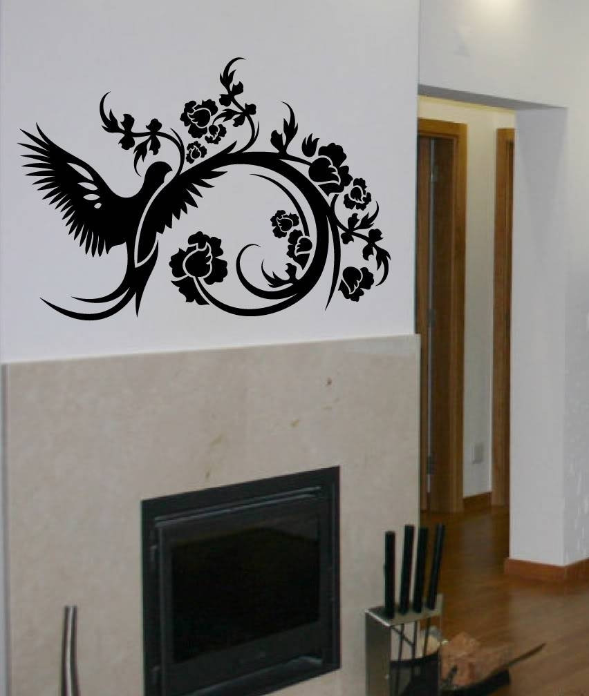 Design Wall Decal Designer Wall Decals Grasscloth Wallpaper On Inside 2017 Art Deco Wall Decals (View 4 of 20)