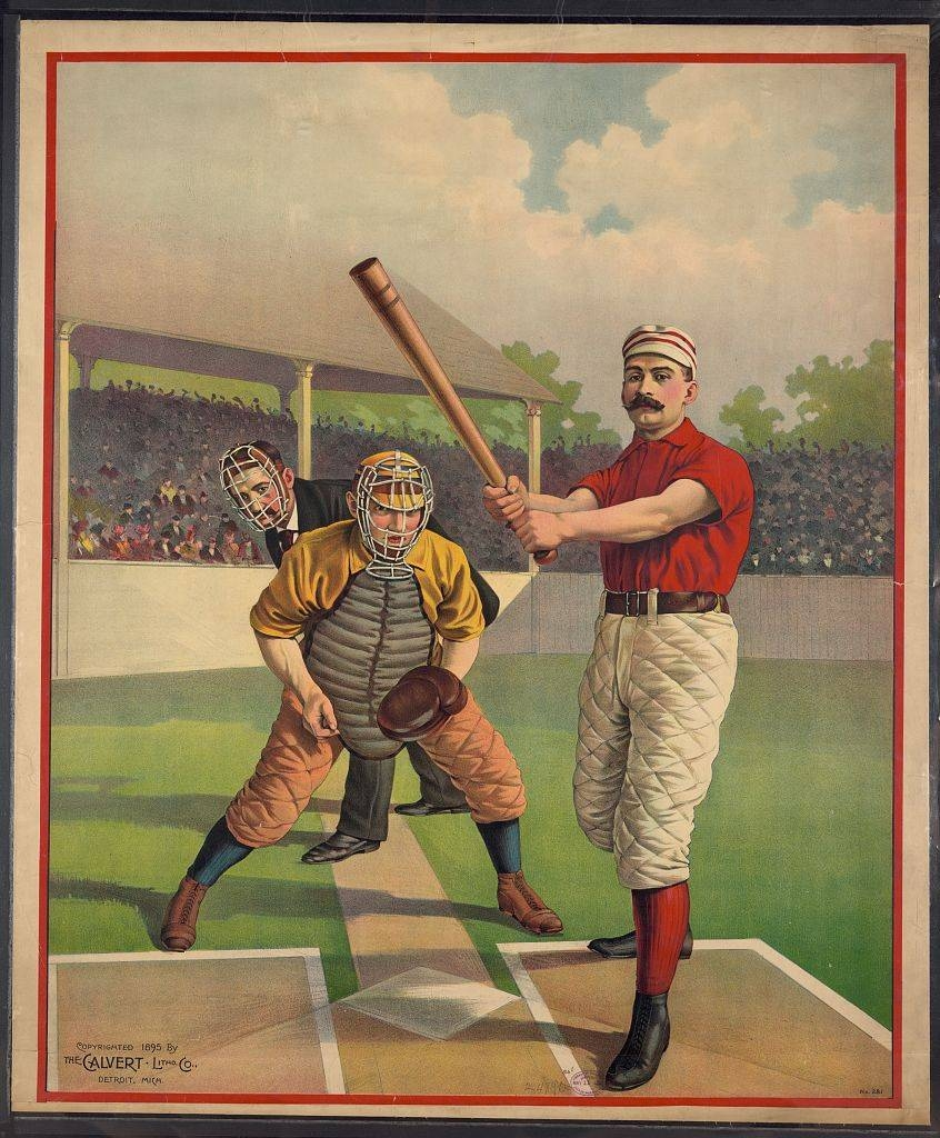 Diamond Visions: Baseball's Greatest Illustration Art, Part 3 Inside Current Vintage Baseball Wall Art (View 17 of 30)