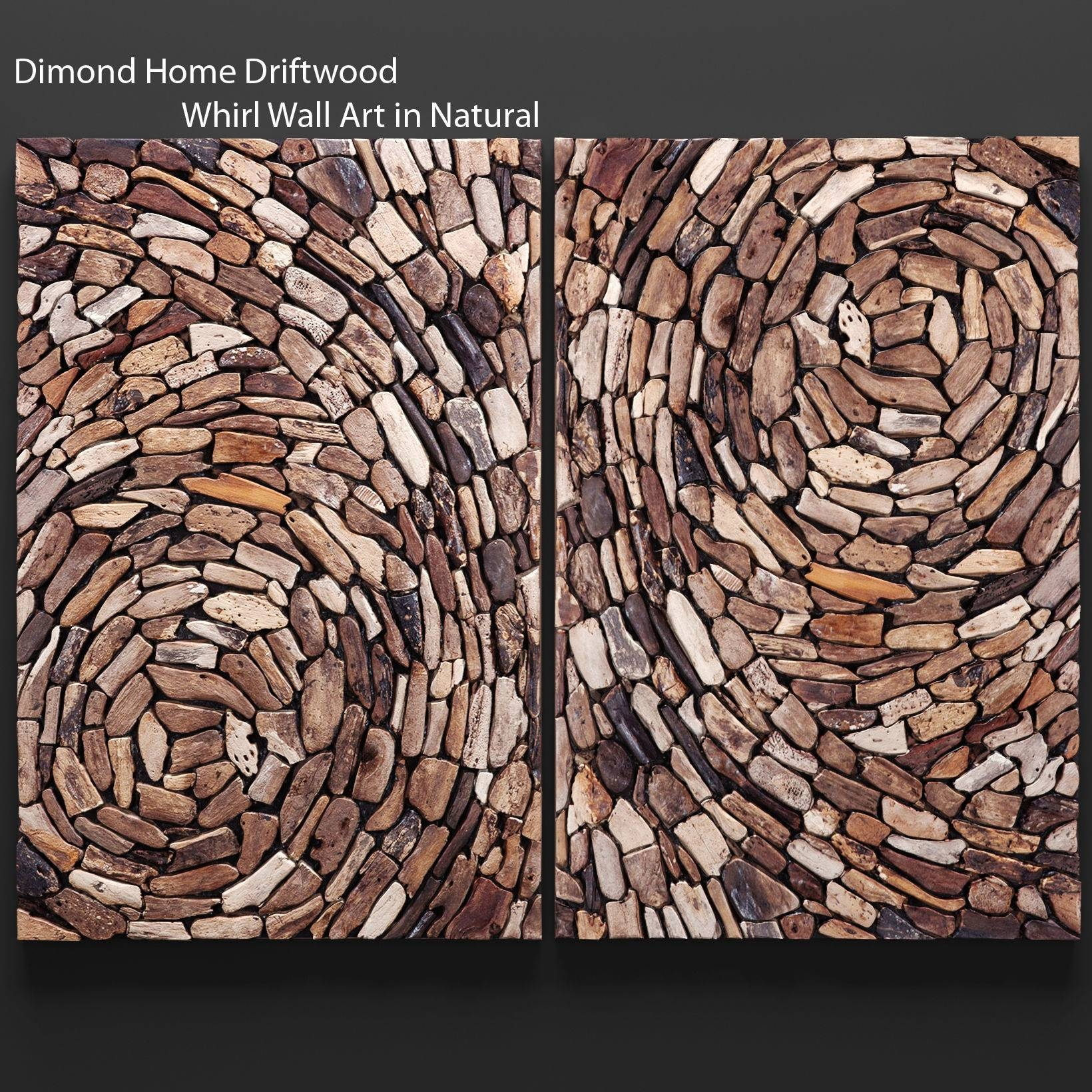 Dimond Home Driftwood Whirl Wall Art In Natural 3D Model Max Obj Inside Most Recent Driftwood Wall Art (View 9 of 30)