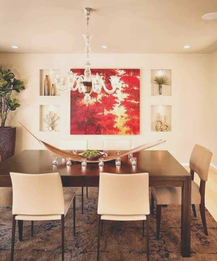 Dining Room : Amazing Dining Room Wall Art Decor Design Decor Within Most Recent Classy Wall Art (View 8 of 15)