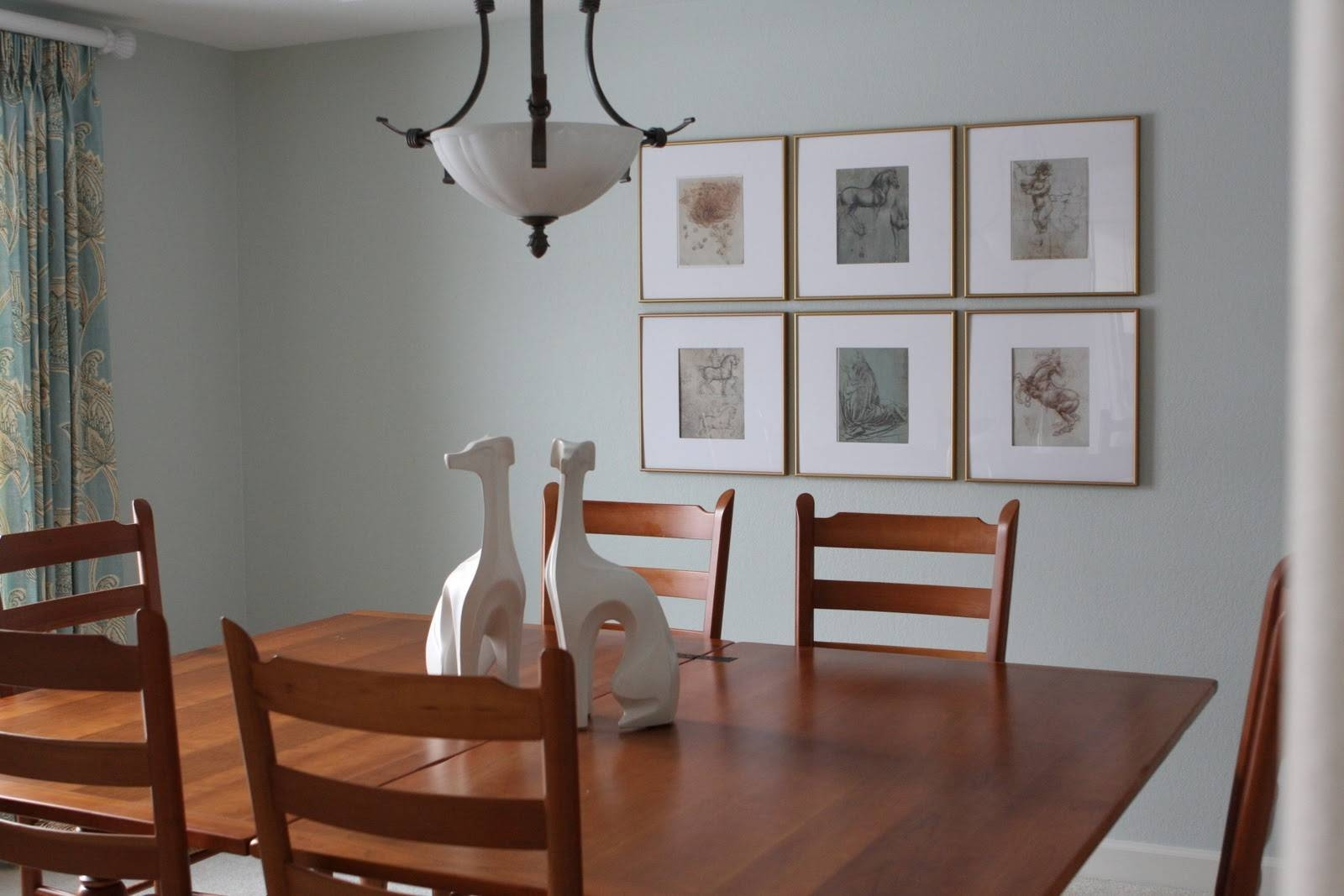 Dining Room | Tile Arrangement Framed Picture Dining Wall Decor Regarding Most Current Wall Art For Dining Room (View 14 of 20)
