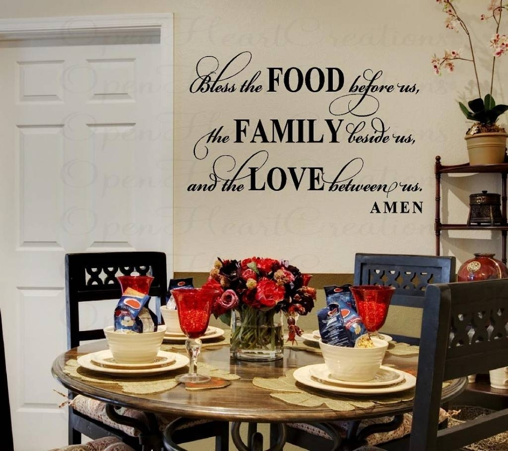 Dining Room Wall Art Dining Room Wall Art Modern Wall Art Stencils Inside Recent Dining Area Wall Art (View 12 of 20)