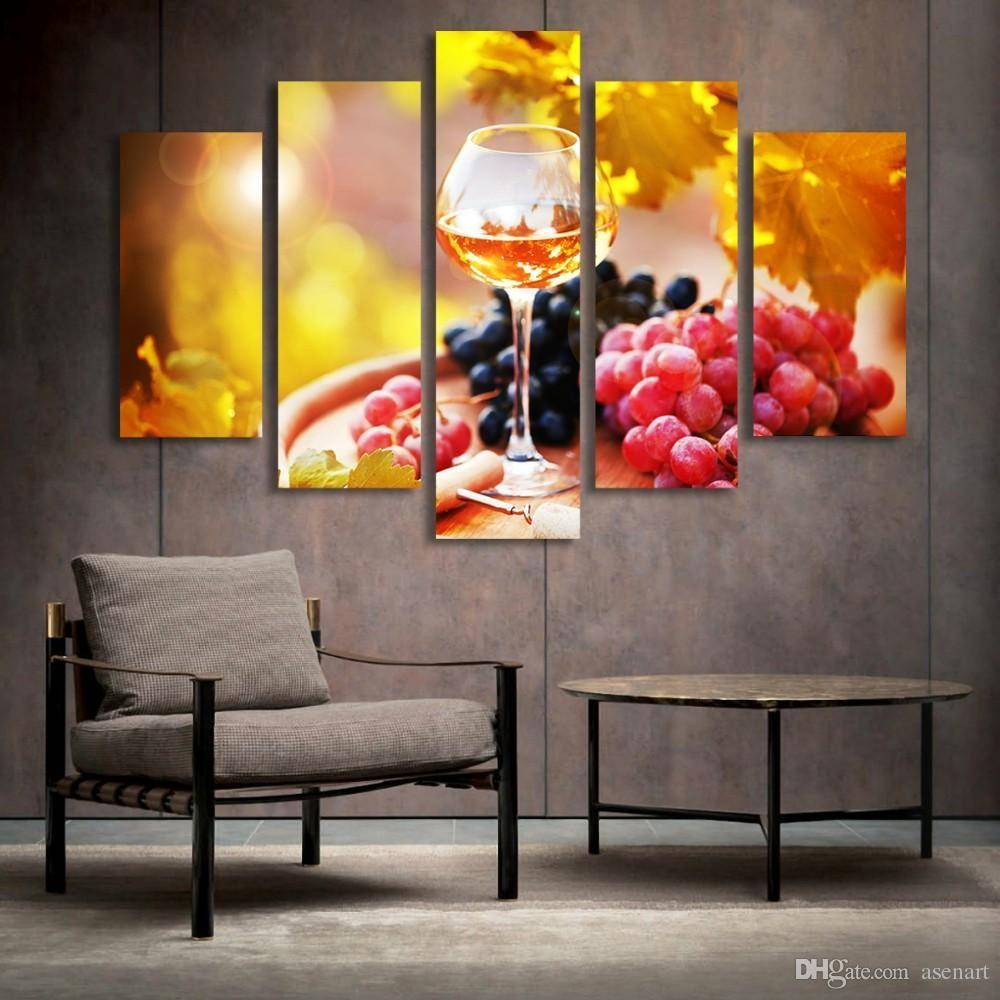 25 best collection of kitchen and dining wall art for Dining wall painting