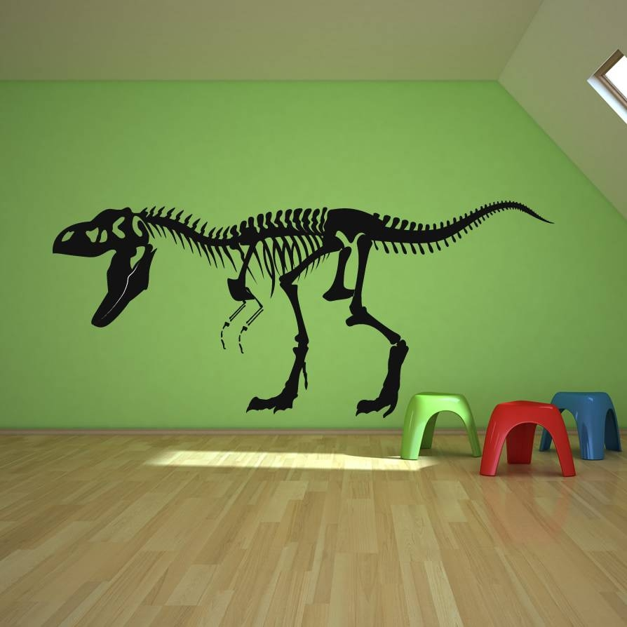 Dinosaur Wall Decals For Kids | Dinosaurs Pictures And Facts Within Most Current Dinosaur Wall Art For Kids (View 14 of 20)