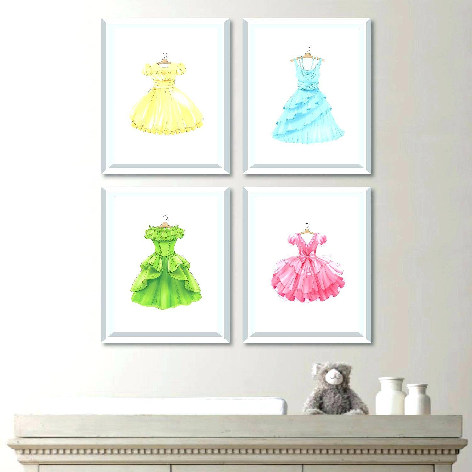 Disney Princess Wall Decals For Kids Rooms Amazing Ideas Princess Within Recent Princess Canvas Wall Art (View 7 of 20)