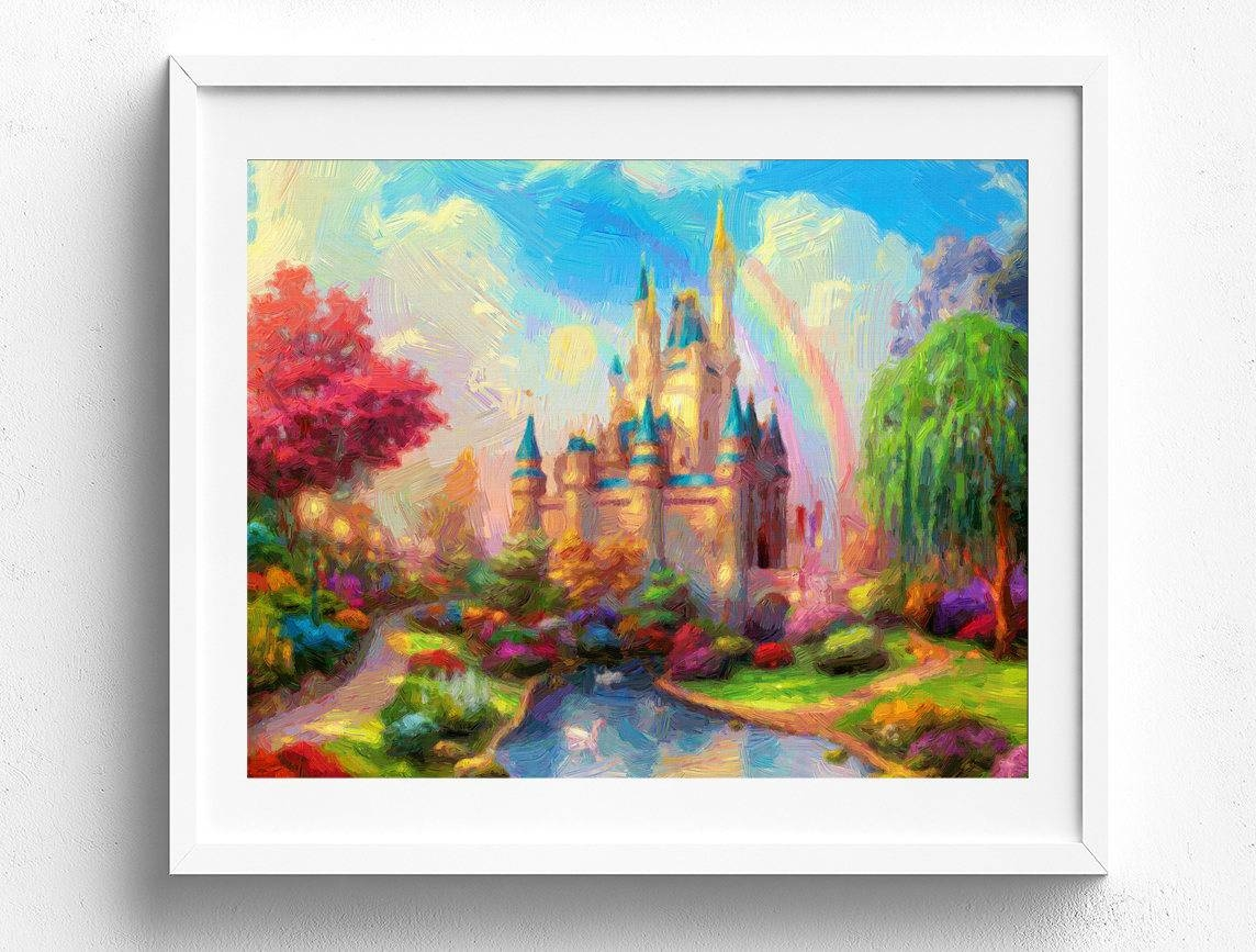 20 the best disney canvas wall art for Wall artwork paintings