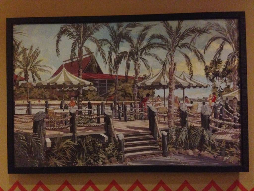 Disney's Polynesian Village Resort Update – Laughingplace For Current Polynesian Wall Art (View 1 of 20)