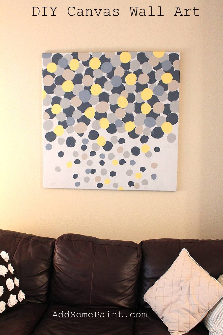 Diy Art Canvas Designs Simplecanvaspaintingideas Ideas Easy Canvas  Throughout Recent Diy Pinterest Canvas Art (View