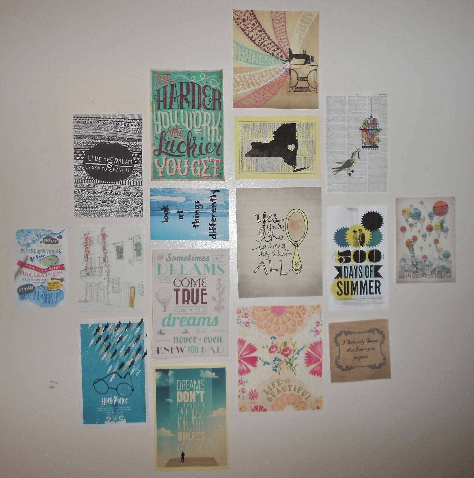 Diy Dorm Wall Decor The Home Design : Dorm Wall Décor: Steps For With 2017 College Dorm Wall Art (View 10 of 20)