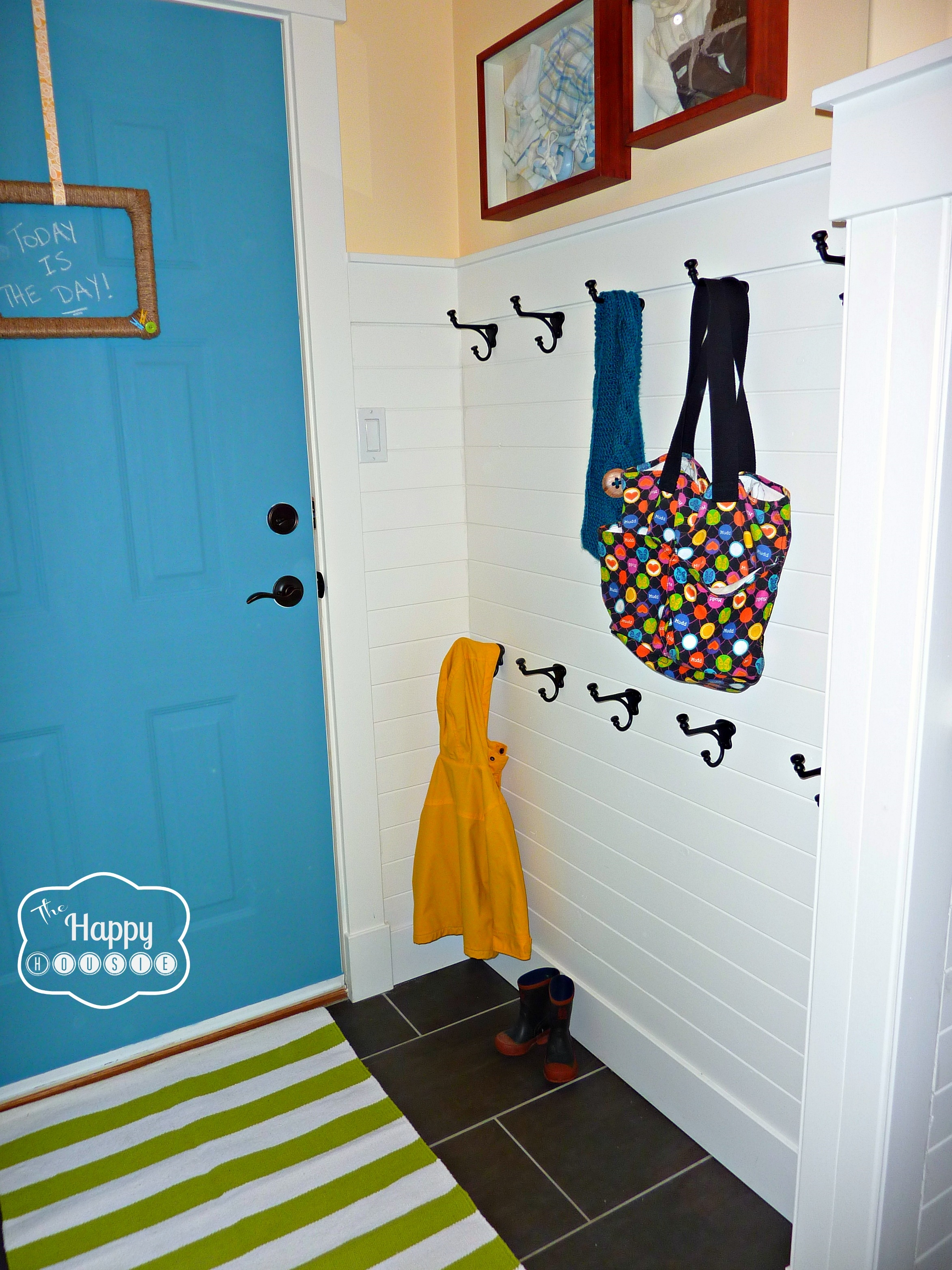 Diy Hang It Up!: A Hook Hanging How To | The Happy Housie With Regard To Most Current Wall Art Coat Hooks (View 9 of 20)