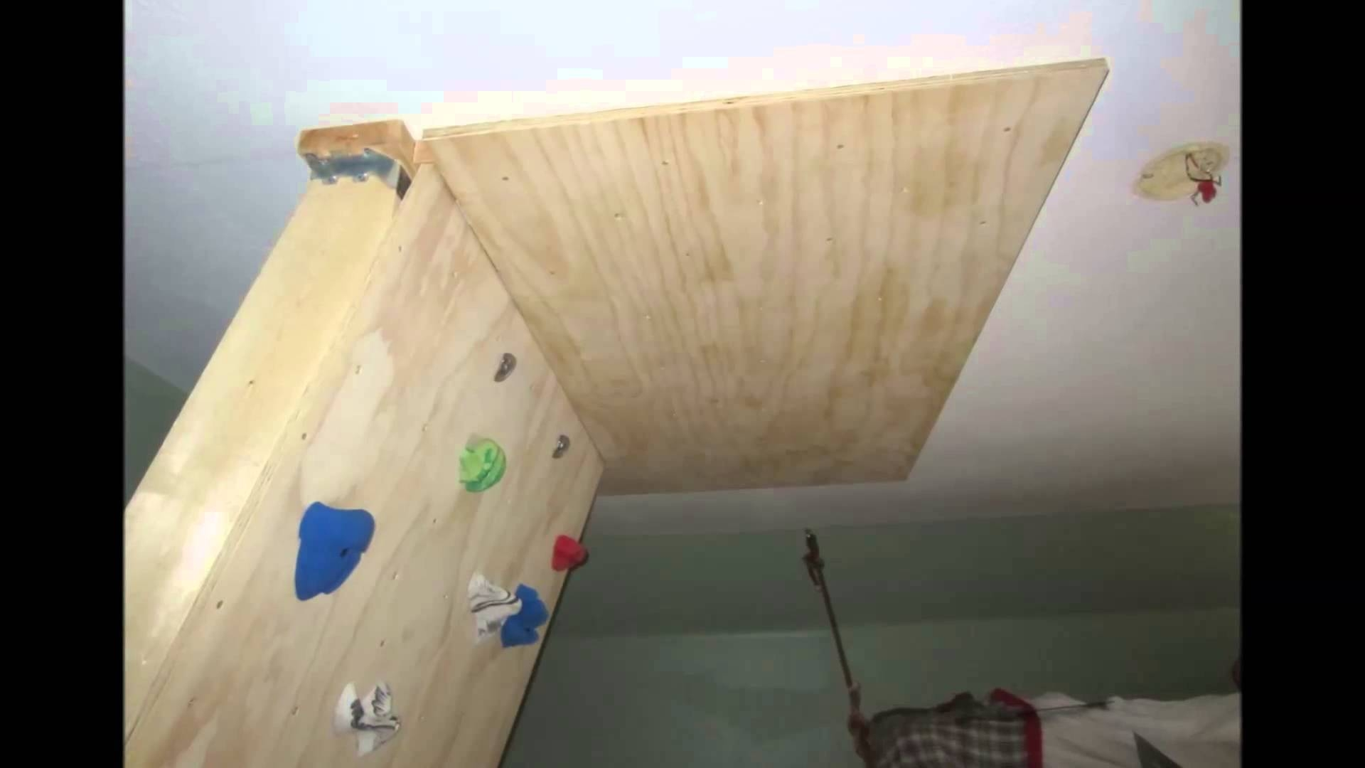 Diy Home Bouldering Wall Youtube – Dma Homes   #23689 Within Newest Home Bouldering Wall Design (View 8 of 20)