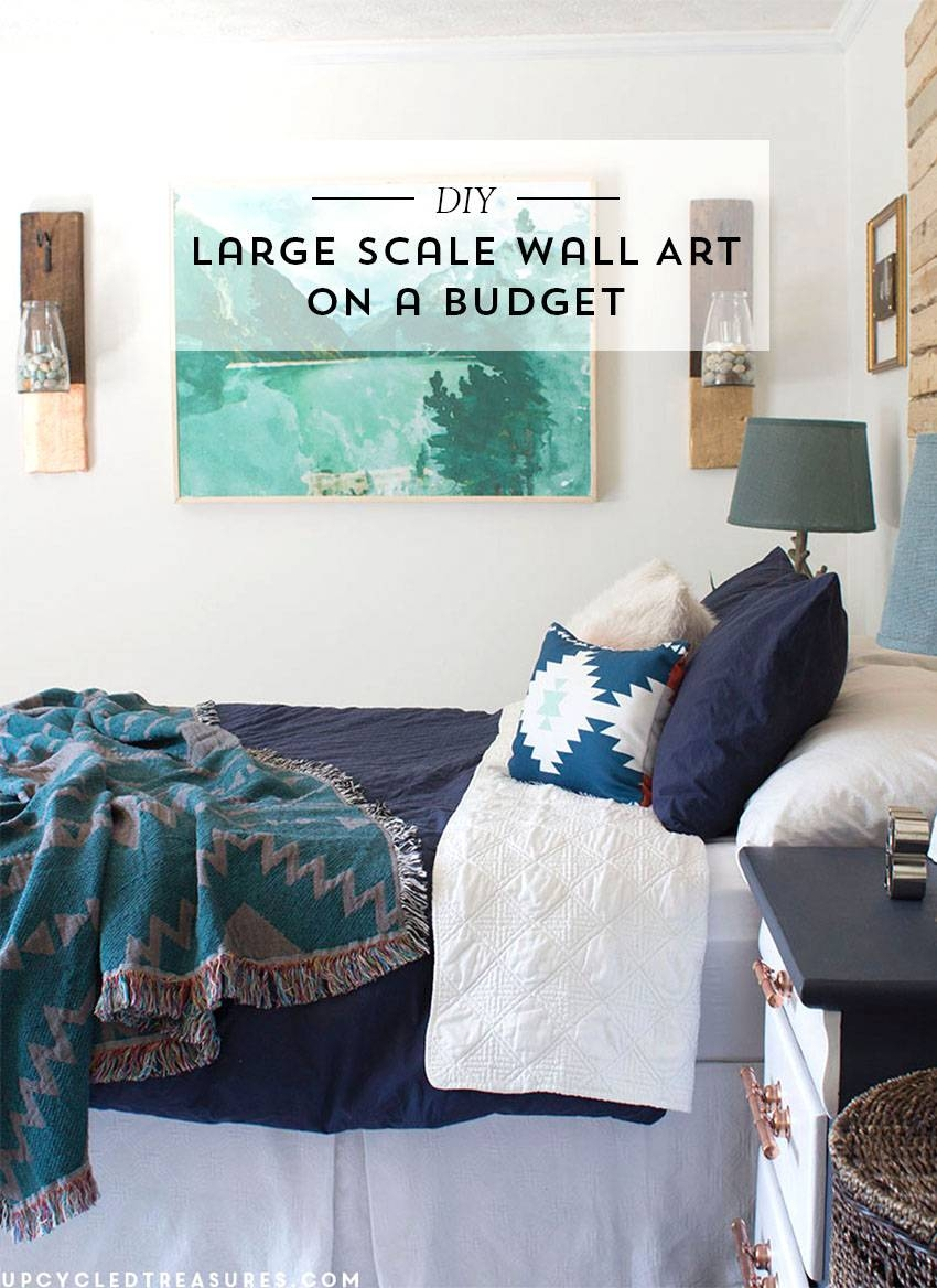 Diy Large Scale Wall Art | Mountain Modern Life Throughout 2018 Large Inexpensive Wall Art (View 7 of 20)