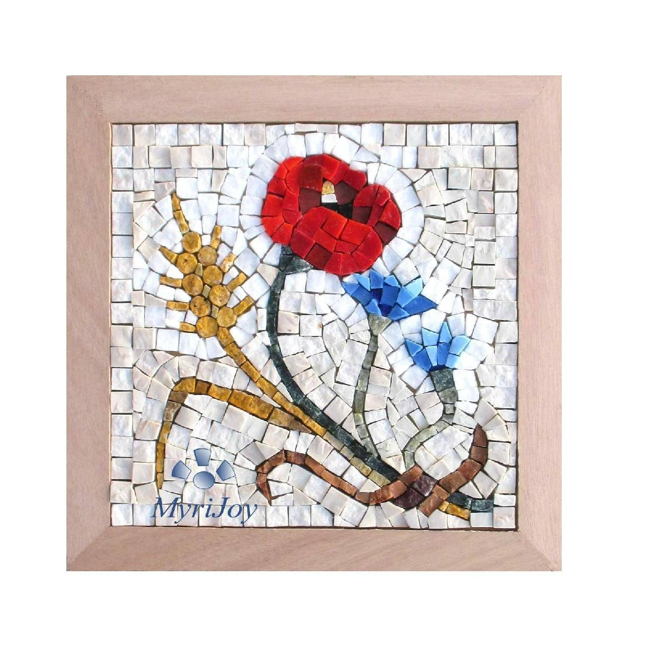 Diy Mosaic Craft Kit For Adults: Four Seasons Summer Mosaic With Recent Mosaic Art Kits For Adults (View 14 of 20)