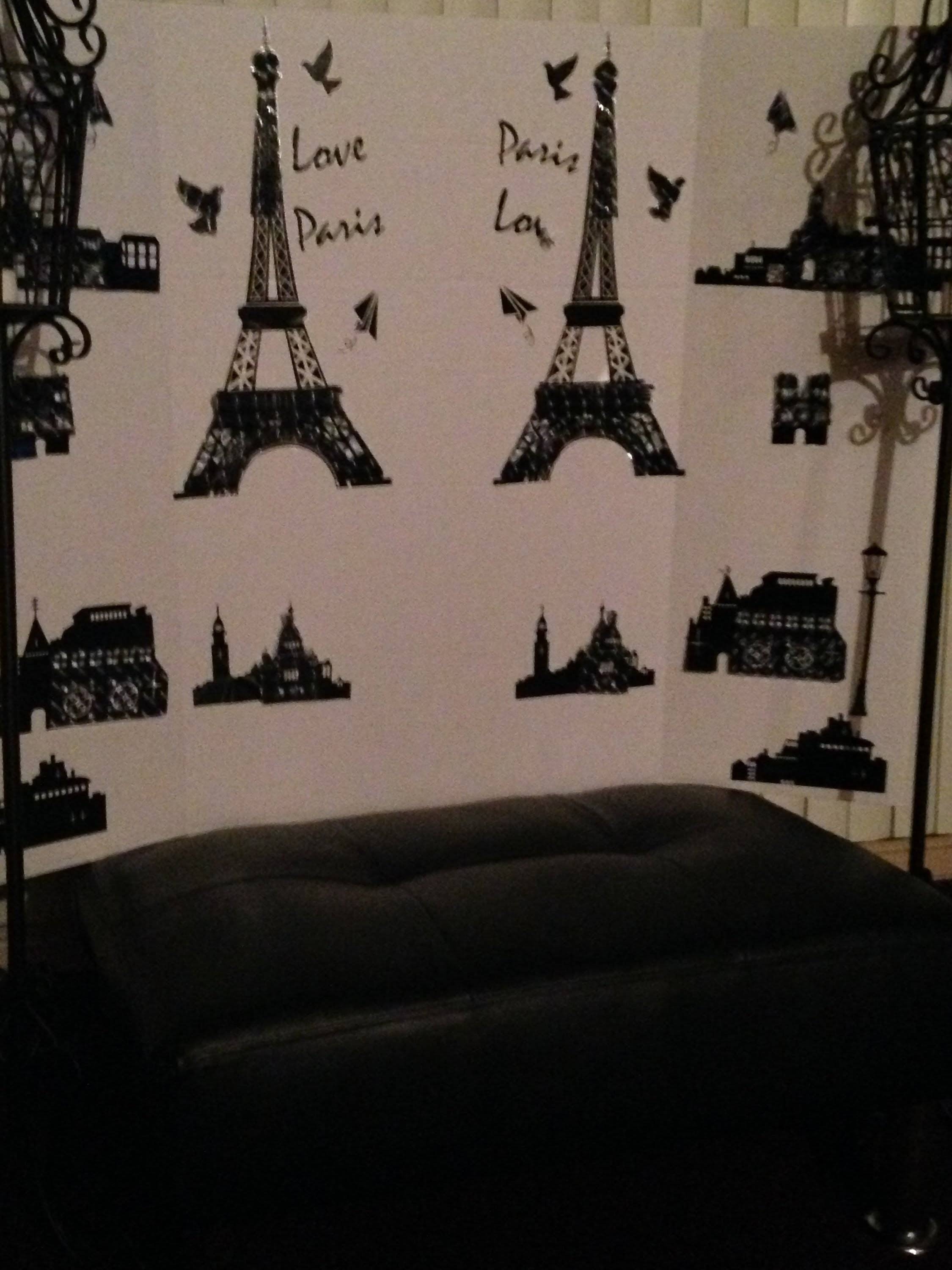 Diy: Paris Theme Room Decor Video Background – Youtube With Regard To Most Recent Paris Theme Wall Art (View 11 of 30)