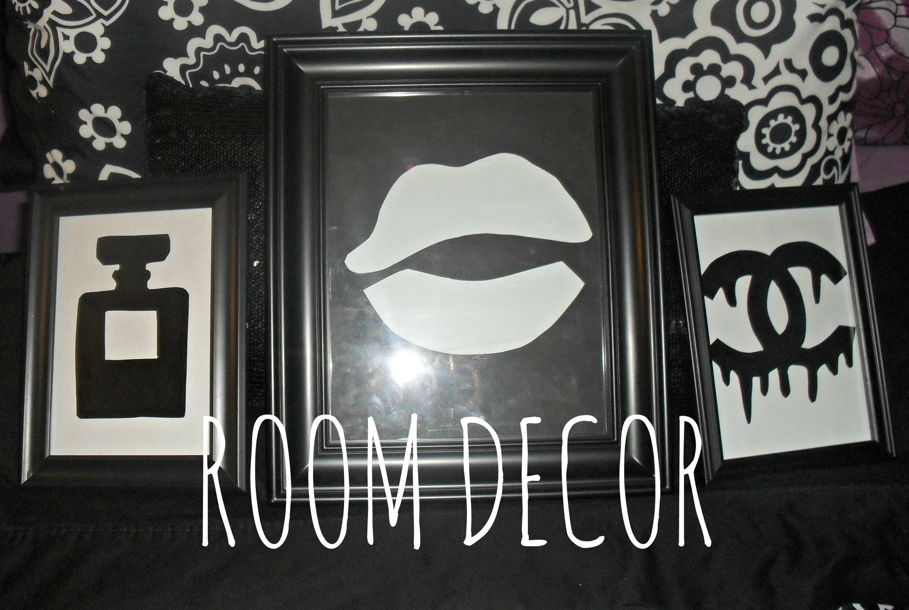 Diy Room Decor: Stencil Wall Decor (Chanel Dripping Logo/perfume Pertaining To Most Recently Released Chanel Wall Decor (View 12 of 25)