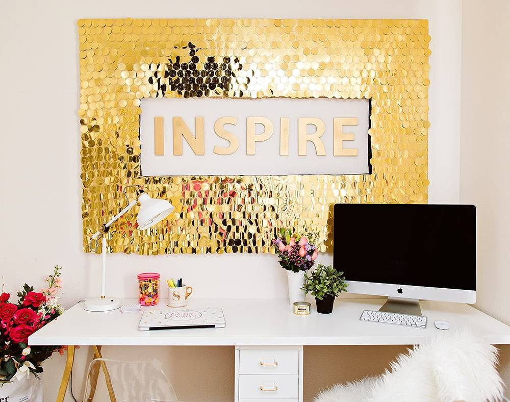 Diy Sequins Wall Art Throughout Most Recently Released Classy Wall Art (View 3 of 15)