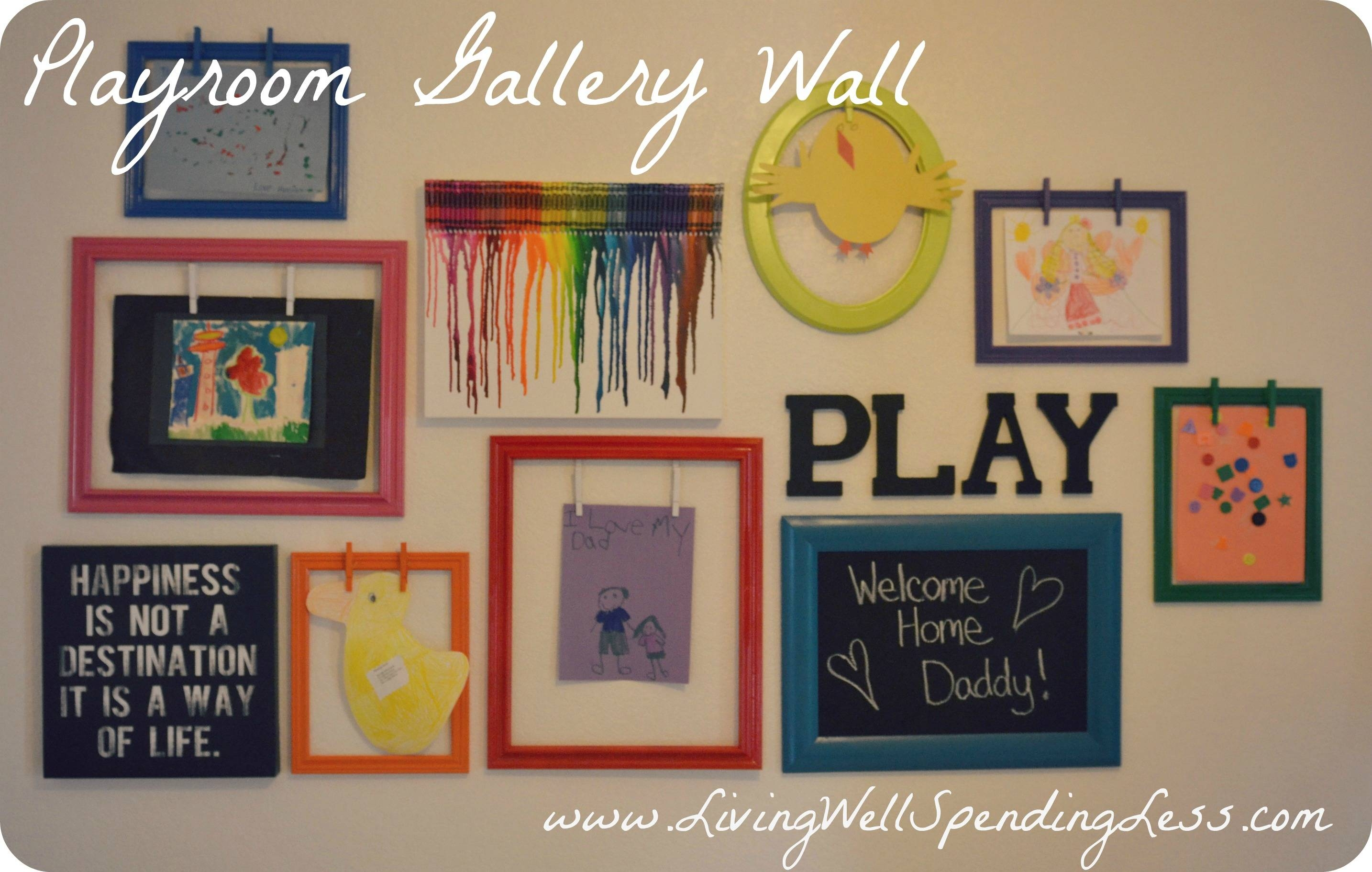 Diy Wall Art For Girls Room Canvas – Home Wall Decoration Pertaining To Most Up To Date Playroom Wall Art (View 17 of 30)