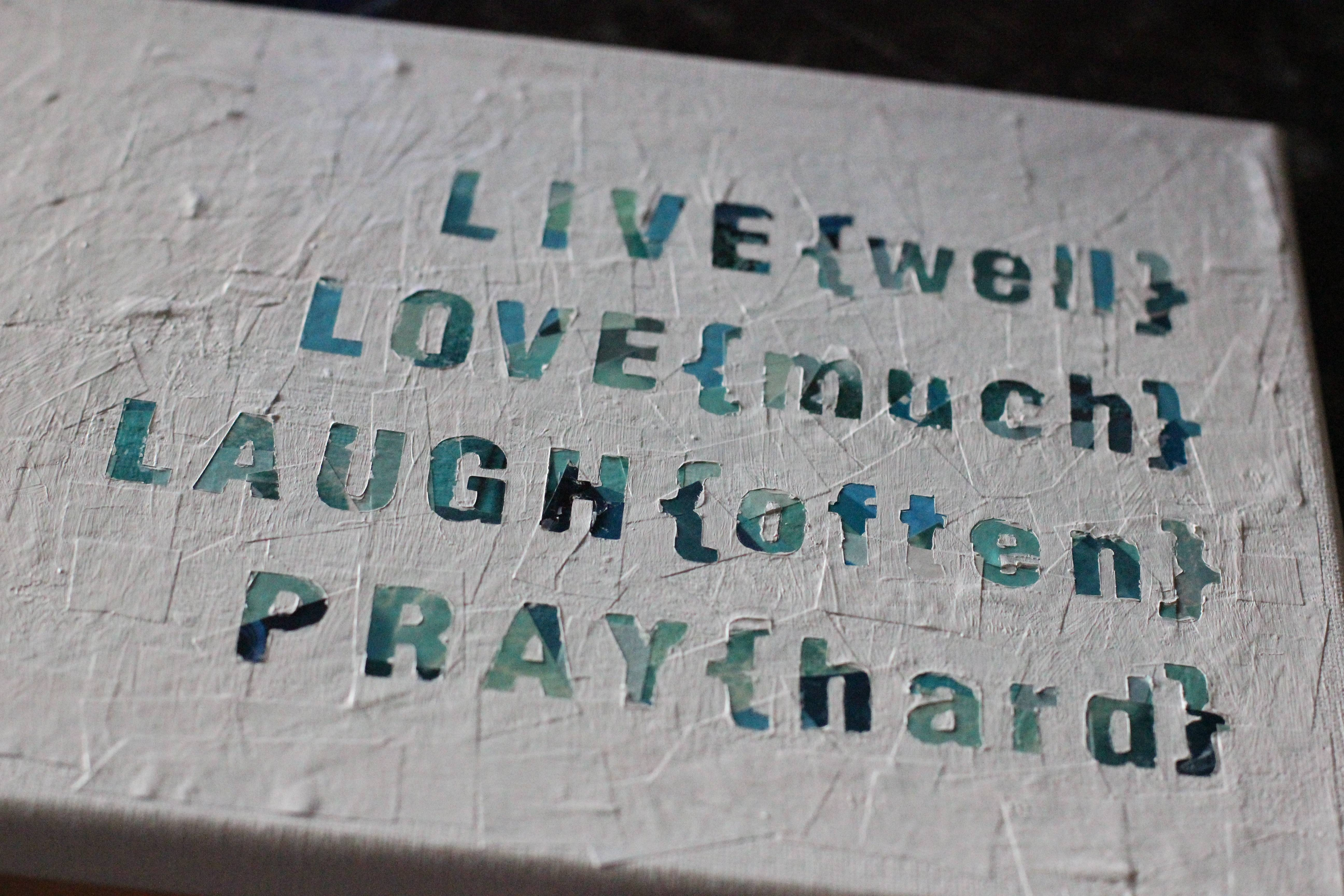 Diy Wall Art Quote Regarding Newest Diy Canvas Wall Art Quotes (View 4 of 20)